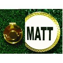 Gatormade Personalized Golf Ball Marker Hat Clip Matt