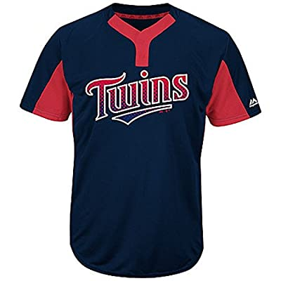 Minnesota Twins MLB 2-Button Colorblocked Jersey