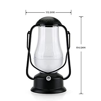 e-joy ej-0025 Portable Blow LED Lamp Blowing Control LED Lantern/Candle Wireless Camping Lamp Nightlight Bedside Lamp