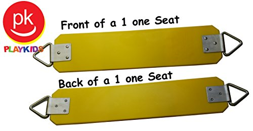 Swings Seat Sling Belt S-02 Commercial Belt Swing (No Rope Or Chain), Yellow back-544656