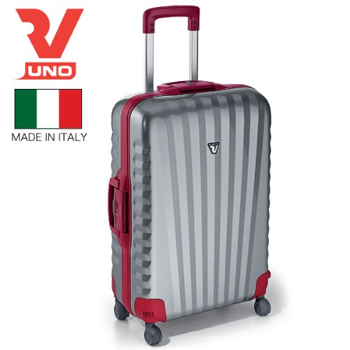 RONCATO ロンカート UNO スーツケース M 70L 4輪 5022シルバーレッド