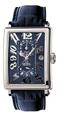 Gevril Men's 5023 Avenue of Americas Automatic GMT Watch