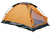 Alvantor Dome outdoor tent for 2 persons with carry bag-orange,light weight for camping and travel
