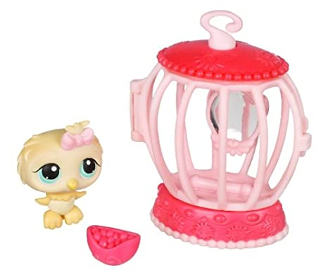 Hasbro - Poupées - PetShop Et Son Sac : Bird With Cage