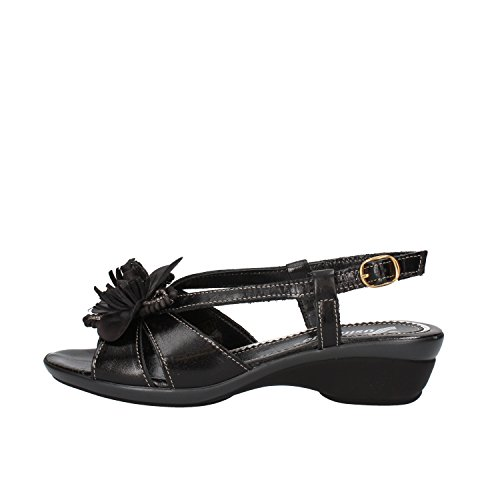 SUSIMODA sandali donna 36 EU nero pelle AG971