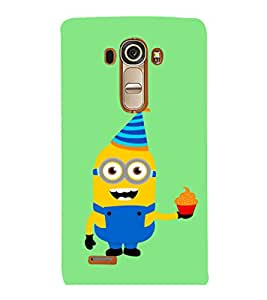 printtech Minions Birthday Back Case Cover for LG G4::LG G4 H815