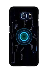 Caseque Iron Man Circuit Back Shell Case Cover For Samsung Galaxy S6