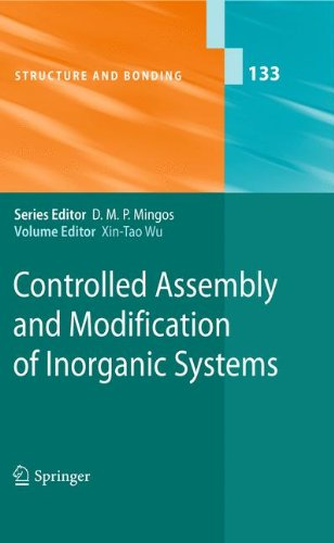 Controlled Assembly and Modification of Inorganic Systems (Structure and Bonding)