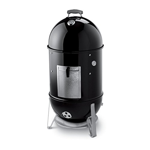 Weber 721001 Smokey Mountain Cooker 18-Inch Charcoal Smoker, Black (Charcoal Smoker Cover compare prices)