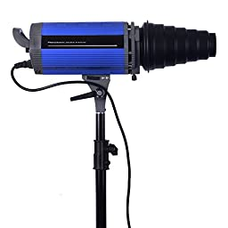 Neewer Photography Continuous LED-2000 200W 110V 5600K Studio Monolight,Digital Remote Control Strobe Flash Modeling Light, Great for Amateurs or Professional Photographers