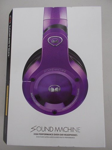 Monster Sound Machine Headphones Over Ear