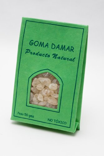 Resina de Goma Damar en gránulo. 50 gr.