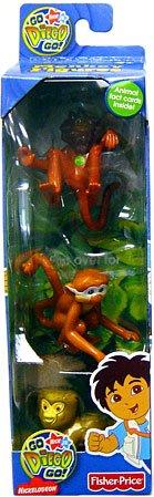 Go Diego Go! Safari Monkey Figure 3-Pack (Capuchin, Squirrel Monkey & Pygmy Marmoset) - Buy Go Diego Go! Safari Monkey Figure 3-Pack (Capuchin, Squirrel Monkey & Pygmy Marmoset) - Purchase Go Diego Go! Safari Monkey Figure 3-Pack (Capuchin, Squirrel Monkey & Pygmy Marmoset) (Fisher Price, Toys & Games,Categories)