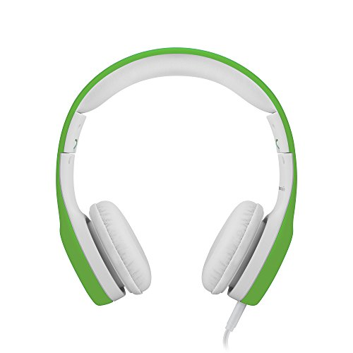 LilGadgets Connect+ Premium Volume Limited Wired Headphones with SharePort® for Children (Green)