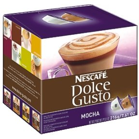 Find Dolce Gusto - Coffee Capsules, Mocha, 2.23 oz., 16 per Box - Sold As 1 Box - Coffee house quality by the cup. from Nestle Products