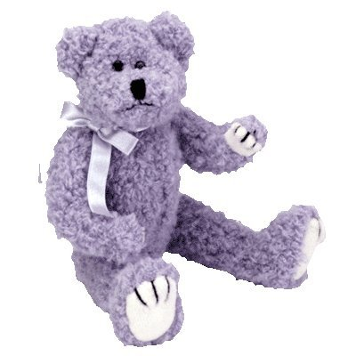 Ty Attic Treasures - Bluebeary the Blue Teddy Bear