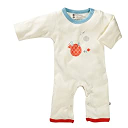 Organic Baby Soy Onepiece - Deer (6-12 Months)
