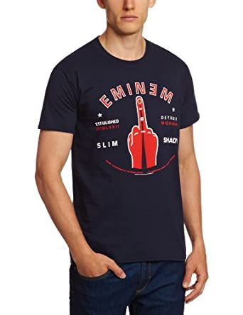 Bravado T-shirt Imprimé musique et film Homme - Bleu - Bleu marine - FR : Small
