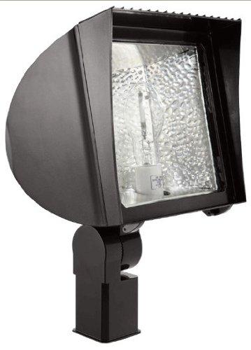 RAB FXH125SFPSQPCS Flexflood 125W-Metal Halide Pulse Start Slipfitter + 120V S Photocell, Bronze