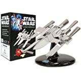 Star Wars X-Wing Knife Block - Including Set of Stainless Steel Knives