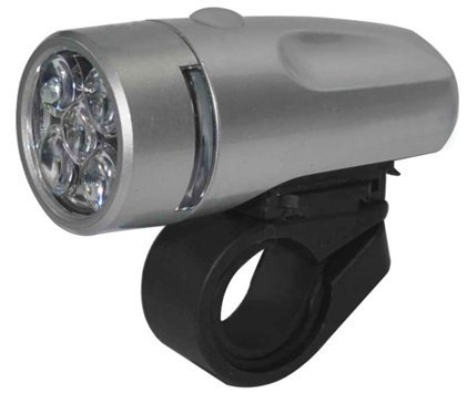 5 LED Bicycle Front Light and Bike Holder Super Bright by