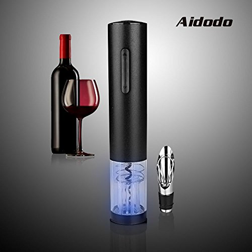 Why Choose Electric Wine Opener , Aidodo Deluxe Aluminum Alloy Wine Opener Foil Cutter Electric Vacu...