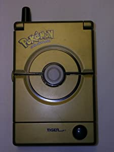 GOLD DELUXE POKEDEX POKEMON HANDHELD ENCYCLOPEDIA
