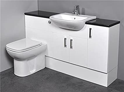 Sink And Toilet White Top