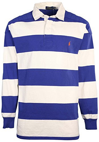 Polo ralph lauren men 39 s big tall striped rugby shirt for Big and tall polo rugby shirts