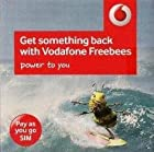 Vodafone UK United Kingdom Mobile Cell PAYG SIM Card With £10.00 GBP Credit