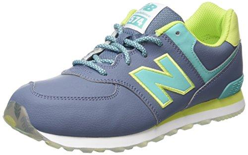 new-balance-574-scarpe-da-ginnastica-alte-unisex-bambini-multicolore-yellow-aqua-737-38-eu