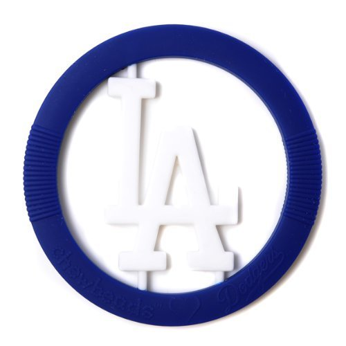 Chewbeads MLB Gameday Teether - Los Angeles Dodgers