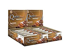 Quest Nutrition Protein Bars, Cinnamon Roll 24 bars