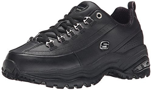 Skechers Sport Women's Premium Sneaker,Black,5.5 M
