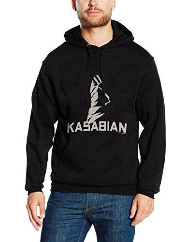 Kasabian - Ultra Face, Felpa da uomo, nero (black), S