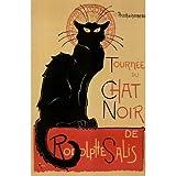 Theophile Steinlen Tournee du Chat Noir Art Print Poster