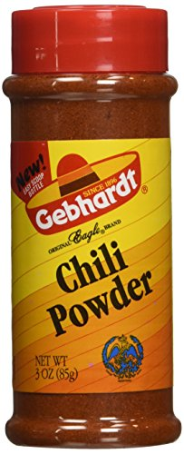 Gebhardt CHILI POWDER 3oz (3 Pack) (Texas Chili Powder compare prices)