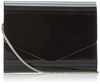Nina Brizia-B Clutch,Black,One Size