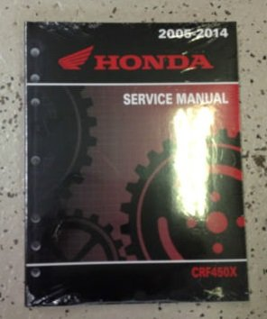 2005 Honda CRF450X CRF 450X Motorcycle Shop Service Repair Manual FACTORY NEW (Honda Crf 450x compare prices)