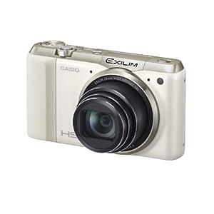 CASIO デジタルカメラ EXILIM 1610万画素 光学18倍ズーム EX-ZR800WE ホワイト