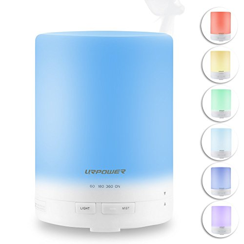 urpower 300ml aroma essential oil diffuser ultrasonic air humidifier with auto ebay. Black Bedroom Furniture Sets. Home Design Ideas