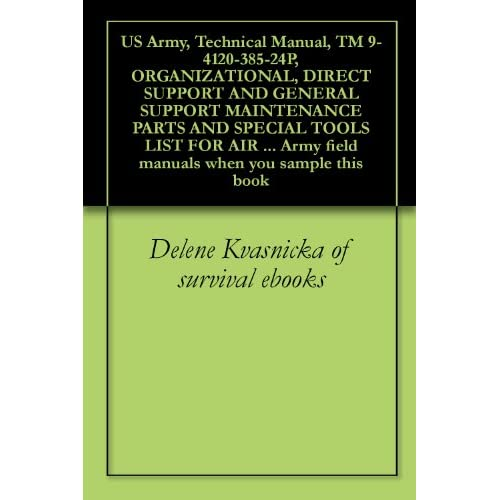 us army technical manual tm 9 4120 385 24p organizational direct rh azrtvos typepad com Army Manual Cover Page list of us army field manuals