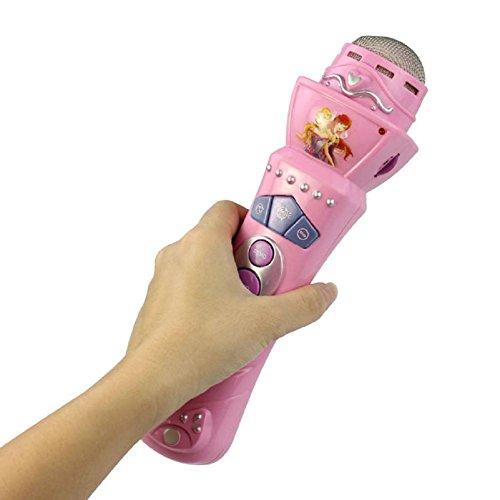 microfono senza fili per ragazzi ragazze, FEITONG portato mic bambini karaoke di canto musica giocattolo divertente regalo rosa