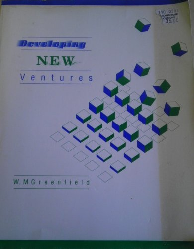 Developing New Ventures PDF