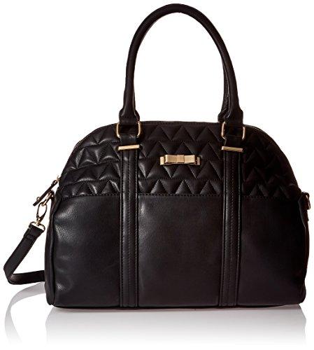 dolce-girl-quilted-satchel-bag-damen-schwarz-schultertaschen
