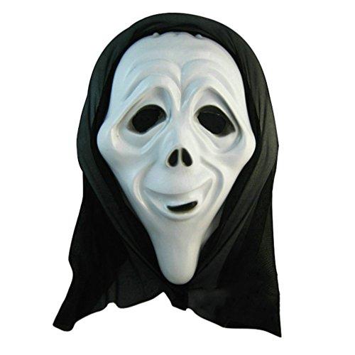 [Old lady Mask Costume Mask Halloween Mask] (Smiley Horror Mask)