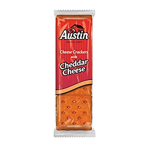 Austin® Cheese Crackers with Cheddar Cheese 8-1.38 oz ...  |Austin Cheddar Cheese
