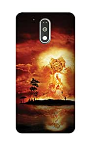 ZAPCASE PRINTED BACK COVER FOR MOTOROLA MOTO G4 PLAY Multicolor