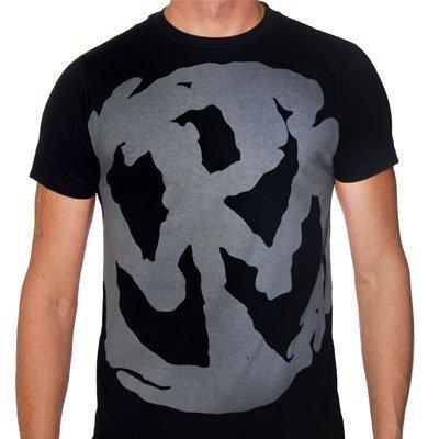 Pennywise - Uomo Grigio Discharge Slimfit T-Shirt, Medium, Nero