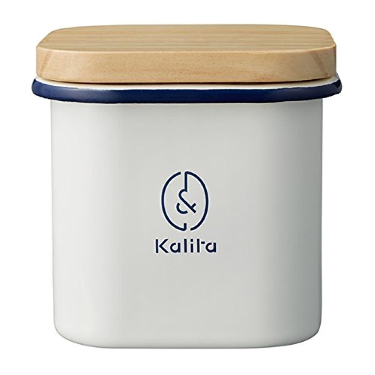 Kalita(칼리타) &칼리타 canister 법랑각형 44252-#44252